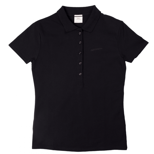 Schwalbe Poloshirt Damen Schwarz